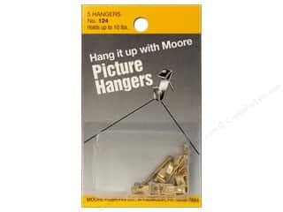 Moore: Moore Picture Hangers with Nail 10lb 5pc (3 pieces)