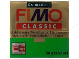 Fimo: Fimo Classic Clay 56gm Green