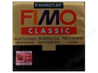 Clearance Clay & Modeling: Fimo Classic Clay 56gm Black