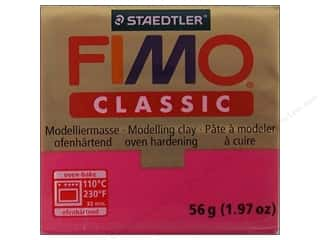 Clearance Clay & Modeling: Fimo Classic Clay 56gm Magenta