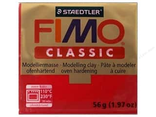 Clearance Clay & Modeling: Fimo Classic Clay 56gm Carmine