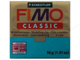 Blend Clay & Modeling: Fimo Classic Clay 56gm Turquoise