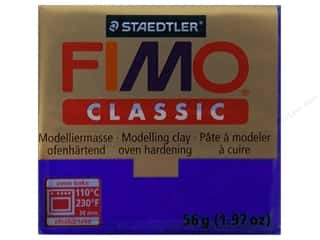 Clearance Clay & Modeling: Fimo Classic Clay 56gm Ultramarine
