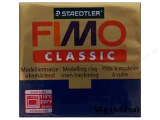 Clay Blue: Fimo Classic Clay 56gm Navy Blue