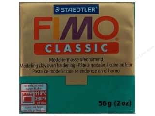 Clearance Blue: Fimo Classic Clay 56gm Teal