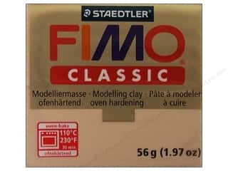 Clay & Modeling Projects & Kits: Fimo Classic Clay 56gm Dark Flesh