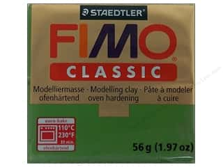 Fimo: Fimo Classic Clay 56gm Leaf Green
