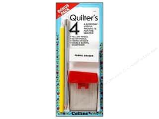 Fabric Pencils: Collins Marking Pencil Quilter's 4