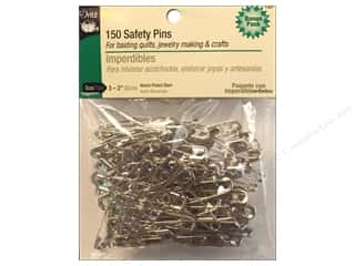 sewing pins: Safety Pins by Dritz 2 in. Nickel 150pc.