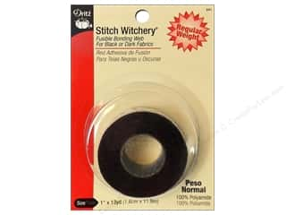 Dritz Stitch Witchery 1&quot;x 13yd Black