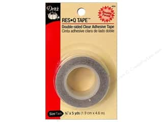 "Double-sided Tape: Dritz Tape Res Q Tape 3/4""x 5yd"