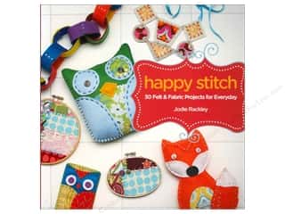 North Light Books Doll & Doll Accessories Books: North Light Happy Stitch Book