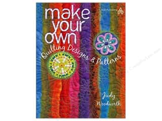 American Quilter's Society $8 - $10: American Quilter's Society Make Your Own Quilting Designs & Patterns Book by Judy Woodworth