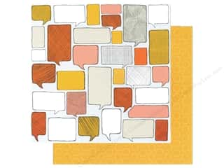 Think Pink: American Crafts 12 x 12 in. Paper Amy Tangerine Ready Set Go Collection Think Good Thoughts (25 pieces)