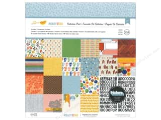 American Crafts 12 x 12 in. Collection Pack Amy Tangerine Ready Set Go