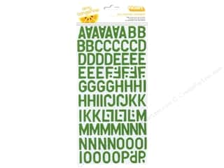 clearance American Crafts Thickers Stickers: Thickers Alphabet Stickers Daily Moss