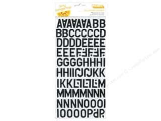 Thickers Alphabet Stickers Daily Black