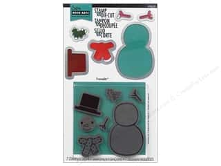 Sizzix Framelits Die Set 6 PK with Stamps Snowman #2