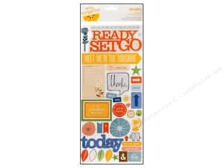 Joy Flowers: American Crafts Stickers Amy Tangerine Ready Set Go Delighted