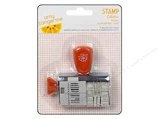 Memorial / Veteran's Day paper dimensions: American Crafts Roller Date Stamp Amy Tangerine Ready Set Go Collection Today