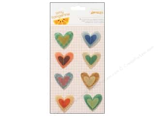 American Crafts Stickers Amy Tangerine Ready Set Go Stitched Vellum