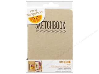 Drawing Clearance Crafts: American Crafts Mini Daybook Set Amy Tangerine Date Ready Set Go Crafty 3 pc.