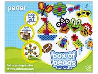 Perler Fused Bead Kit Box Of Beads