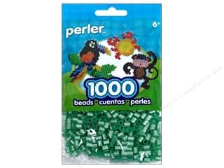 Perler $1 - $3: Perler Beads 1000 pc. Pearl Green