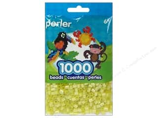 Perler Beads 1000 pc. Pearl Yellow
