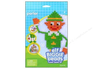 Perler Christmas: Perler Biggie Bead Activity Kit Elf