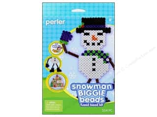 Perler Biggie Bead Activity Kit Snowman