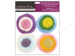 Dimensions 100% Wool Felt Embl Roving Pastel