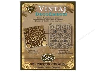 Sizzix Die Vintaj DecoEmboss Moroccan Tile