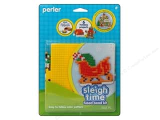 Perler Fused Bead Kit Sleigh Time