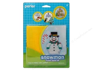 Perler Fused Bead Kit Snowman