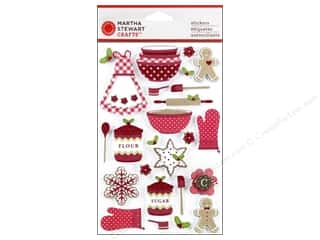Martha Stewart Sticker Cottage Christmas Baking