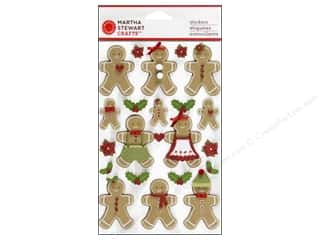 Martha Stewart Sticker Cottage Christmas Gingerbread
