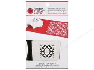 Weekly Specials Crochet: Martha Stewart Punch All Over The Page Crocht Star