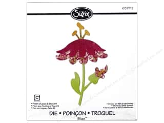 Sizzix: Sizzix Bigz Die Flowers with Leaves & Stem #4
