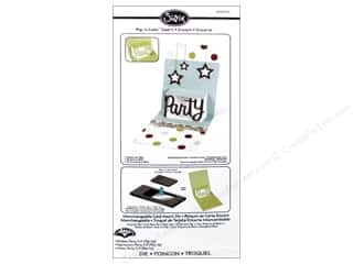 Party & Celebrations $3 - $4: Sizzix Die Pop N Cuts Magnetic Insert Phrase Party 3D by Karen Burniston