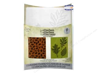 Sizzix Emboss Folder Tim Holtz TF Textured Leaves