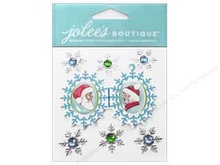 Jolee's Boutique Stickers Mr And Mrs Claus Locket