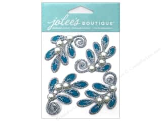 Jolee's Boutique Stickers Felt Mistletoe