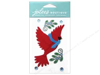 EK Success EK Jolee's Stickers: Jolee's Boutique Stickers Cardinal