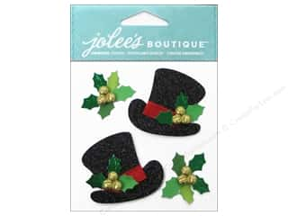 Jolee's Boutique Stickers Lace Top Hats