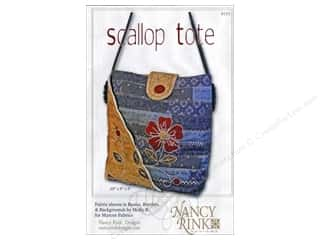 Lila Tueller Designs Tote Bags / Purses Patterns: Nancy Rink Designs Scallop Tote Pattern