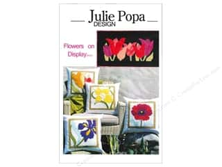 "Books & Patterns 16"": Julie Popa Design Flowers On Display Pattern"