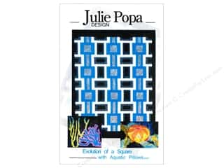 Home Decor $21 - $300: Julie Popa Design Evolution Of A Square With Aquatic Pillows Pattern