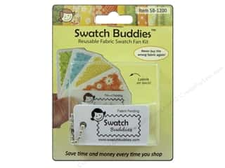Swatch Buddies Fabric Fan 12pc