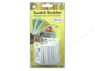 Labels Organizers: Swatch Buddies Fabric Fan 24pc